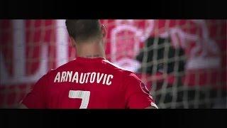 Marko Arnautovic im Spiel gegen Montenegro