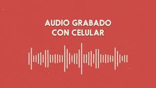 11 - Ver... Crear... Grabar - Audio grabado con el celular