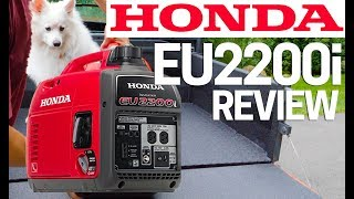 2. ⚡�Honda Generator EU2200i Full Review - Upgrade to Honda EU2000i Best Generator 2019