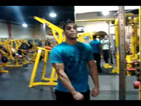 shoulder work out - Re-Uploaded had some trouble. My meal plan http://www.youtube.com/watch?v=dHTWLOrCUF8 This is my current shoulder workout its been working out for me in the ...
