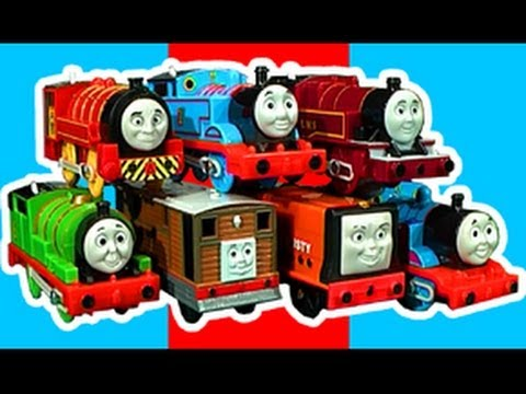 Thomas - Sorry for taking so long to make this Thomas and Friends Trackmaster toy review..enjoy. Accessories and playsets seen in this video are.. Thomas in a Jam, fe...