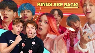 Video BTS - 'Boy with Luv' MV reaction! (JIMIN SNAPPED.) MP3, 3GP, MP4, WEBM, AVI, FLV Juli 2019