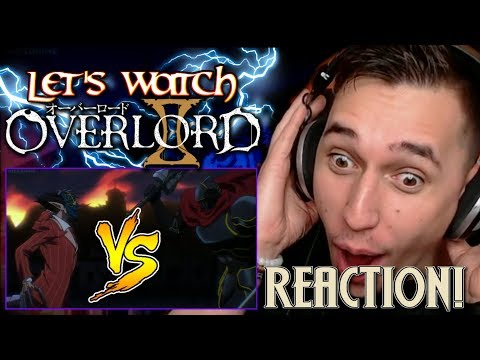 BEHOLD LORD MOMON!!| Overlord II Episode 12 REACTION!!