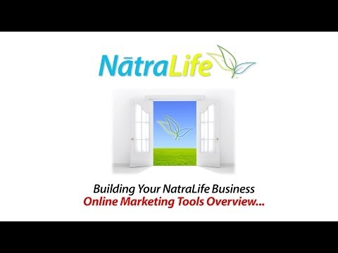 NatraLife New Online Marketing Tools… An Overview