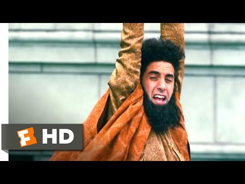 The Dictator (2012) - A Snag on the Zipline Scene (10/10) | Movieclips