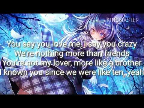Nightcore-Friends-Marshmello,Anne Marie (Lyrics)