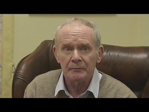Παραιτήθηκε ο αντιπρόεδρος της κυβέρνησης και βουλευτής του Σιν Φέιν Μέρτιν ΜακΓκίνες