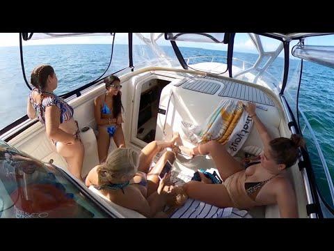 Miami boating fun in the sun