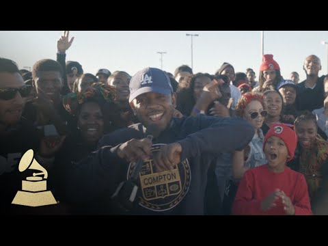 Kendrick Lamar and the city of Compton bring out 'Alright'
