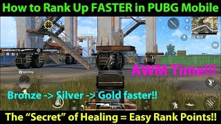 Video How to Gain Rank FASTER in PUBG Mobile - Gain More Ranking Points with this Tip / Trick!!! MP3, 3GP, MP4, WEBM, AVI, FLV Juni 2018