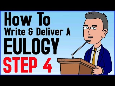 How To Write And Deliver A Eulogy Step 4 of 6 - Eulogy Definition - Bring Them Together