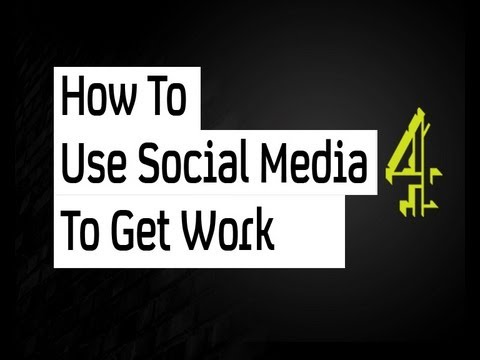 How to use social media to get work | Channel 4 GEW