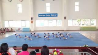 Aerobic thiếu nhi Phường Thượng Thanh năm 2015