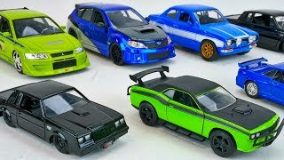 Nonton Fast And Furious Cars Diecast Collector Cars Toy Collection Lancer Evo 7 Gtr Mustang Film Subtitle Indonesia Streaming Movie Download