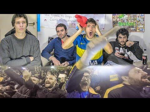 Boca vs Independiente | Torneo Argentino 2017 | Reacciones de amigos