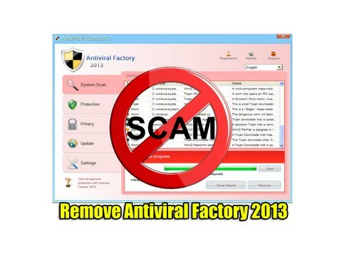 malware - Remove Antiviral Factory 2013 Malware Antiviral Factory 2013 is new rogue doing the rounds on the internet, so don't get scammed by this nasty malware, Its a...
