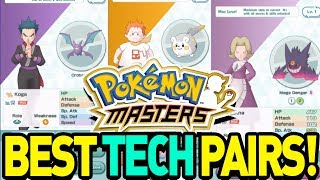 BEST TECH SYNC PAIRS in POKEMON MASTERS! by aDrive