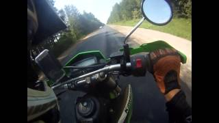 10. Kawasaki KLX 250 S 2012 acceleration 0-100 km/h and top speed