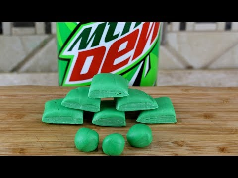 Mountain Dew Bubble Gum | How to Make Homemade Bubble Gum