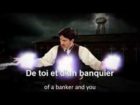 Nikola Tesla VS Thomas Edison Epic Rap Battle Of History VOSTFR (Sous titres français)
