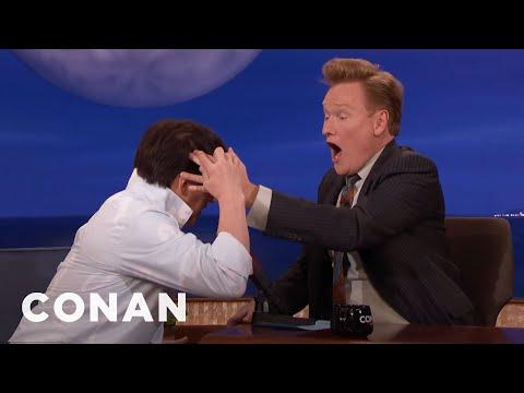 Jackie Chan Makes Conan Feel The Hole In His Head  - CONAN on TBS
