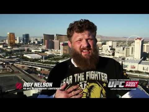 japan - Taking a break from training for his headlining fight, UFC heavyweight and native Las Vegan, Roy Nelson, heads to the Voodoo Zipline high atop The Rio hotel to see the city from a whole different...