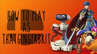 """How to Play as ThatGingerBrit – A montage in the style of Alpharad's """"How To"""" videos"""
