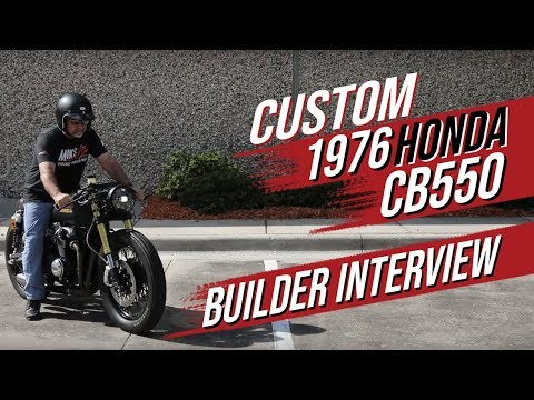 Honda 1976 CB550 Restoration - Builder Interview