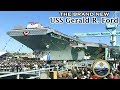 The Brand New Gigantic Us Aircraft Carrier Uss Gerald Ford Cvn 78