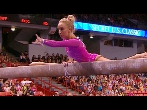 Nastia Liukin starts come back in Chicago - from Universal Sports