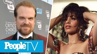 Video David Harbour Wants To 'Protect' Millie Bobby Brown, Camila Cabello's Album Reactions | PeopleTV MP3, 3GP, MP4, WEBM, AVI, FLV April 2018