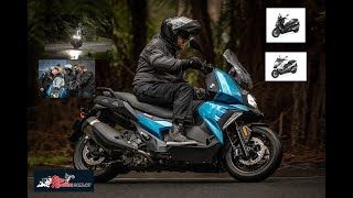 7. 2019 BMW C 400 X and C 400 GT Ride Review