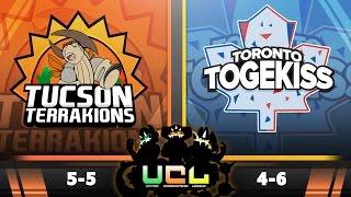 Pokémon ORAS LIVE Wi-Fi Battle [UCL S2W11] Tucson Terrakions vs Toronto Togekiss by King Nappy