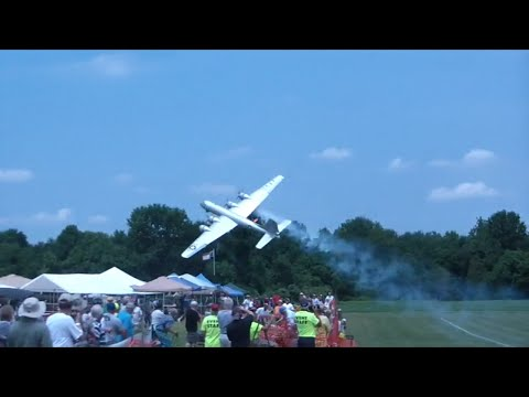 mac - B29 Crashes into storage tent at Warbirds over Delware. Mac's Intervew on HK Live. https://www.youtube.com/watch?v=w1uDT7p1JAg.