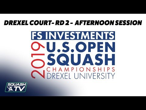 U.S. Open 2019 - Rd 2 Afternoon Session - Drexel Court