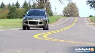 2013 Ford Escape Titanium EcoBoost Test Drive&Crossover SUV Video Review