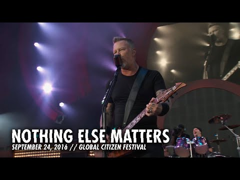 Video Metallica: Nothing Else Matters (Live - Global Citizen - New York, NY - 2016) download in MP3, 3GP, MP4, WEBM, AVI, FLV January 2017