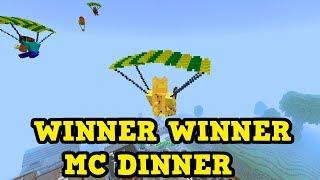 BATTLE ROYALE inside Minecraft??? - Winning Games!
