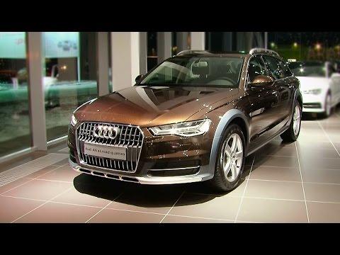 Audi A6 Allroad 2015 - видео-обзор!