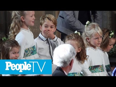 The Kids Steal The Show! All The Cutest Moments From Princess Eugenie's Royal Wedding | PeopleTV