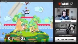 Westballz gets rekt by level 4 fox cpu
