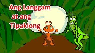 Ang Langgam at ang Tipaklong (Istoryang Pambata)