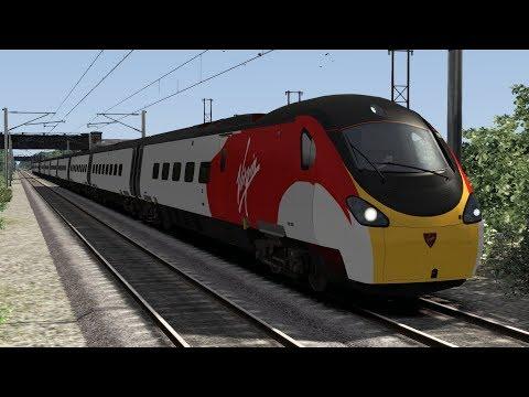 Train Simulator 2018 | Shoutout | Class 390 Old Version Virgin Trains | WCML Over Shap HD