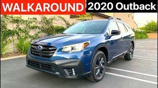2020 Subaru Outback Onyx Edition XT WALKAROUND by MilesPerHr