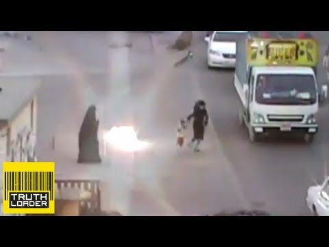 Bahrain - Footage has emerged of Bahraini police throwing stun grenades at two women and a young child in the town of Al-Malkiyah on 31 March. The Bahrain Center for H...