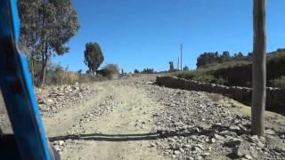 Tuc-tuc Ride To King Bazen's Tomb, Axum Ethiopia
