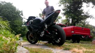 7. 2005 Yamaha r6 raven