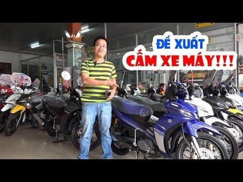 Cạn lời với đề xuất CẤM XE MÁY tại Việt Nam!