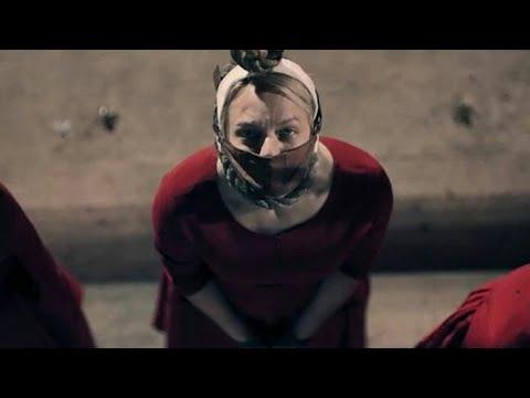 The Handmaid's Tale 2x01 Hanging Scene (HD) This Woman's Work