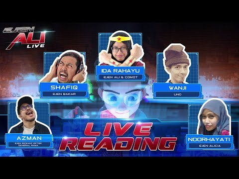 Video Ejen Ali - Live Reading @ The Big Bad Wolf Bookfair download in MP3, 3GP, MP4, WEBM, AVI, FLV January 2017